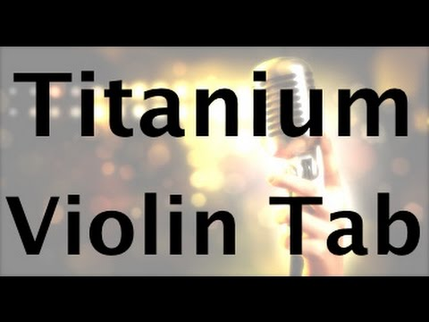 Learn Titanium on Violin - How to Play Tutorial