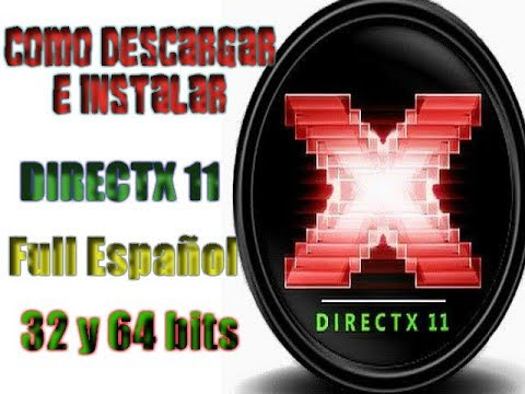 Como Descargar Directx 11 Actualizado Para Windows Xp,7,8,10...