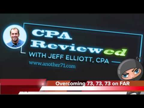 How to Pass FAR after 73, 73, 73 on the CPA Exam