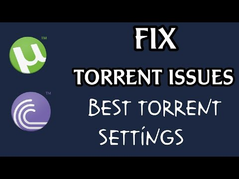 How To Fix Torrent Shows Connecting To Peers | Torrent Faster Download Settings