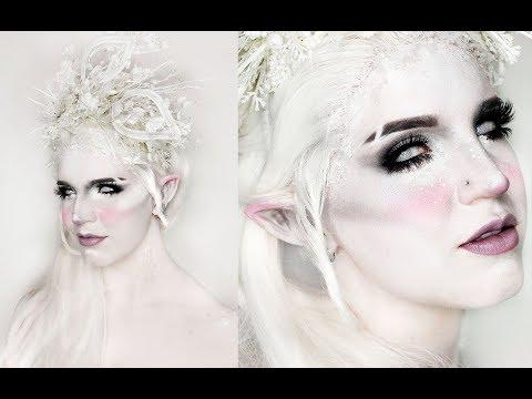 WINTER FAIRY | Fae Makeup Tutorial | Apply Elf Ears