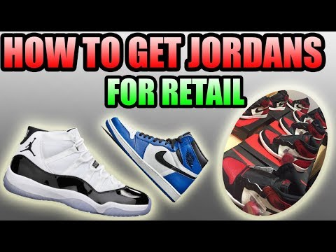 How To Get JORDANS FOR RETAIL ! | How I copped 8 PAIRS OF BRED TOES !