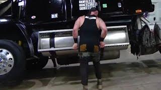 Braun Strowman FLIPS a Semi-Truck on WWE Raw