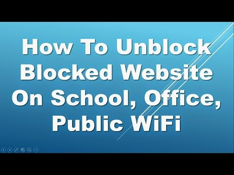 How To Get Past School Firewall[100%Working]