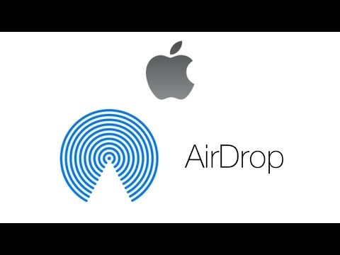 How to use AirDrop on MacBook and iPhone - File Sharing Tutorial 2016