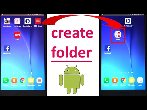 how to create a new folder in android