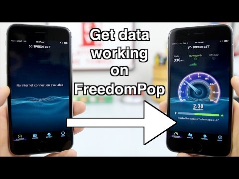 How to Get Data Working on FreedomPop!