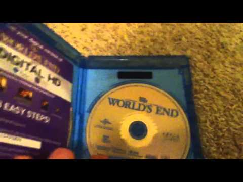 The World's End Blu-Ray Unboxing+ Free ITunes Digital Copy