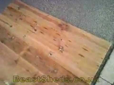 Possibly the strongest shed flooring online!