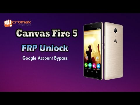 Micromax Canvas Fire 5 (Q386) FRP Unlock | Google Lock Remove | Gmail Account Bypass |