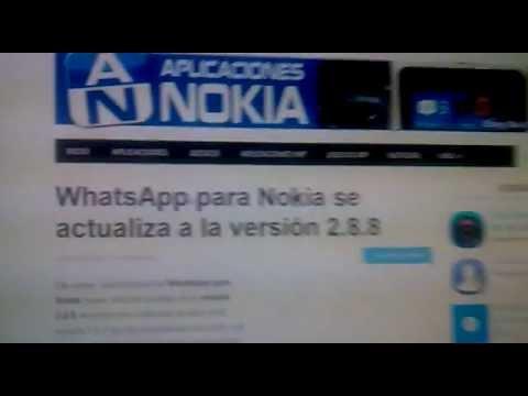 whatsapp nokia 5230 efectivo