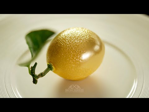 Lemon Shaped Dessert – Bruno Albouze – THE REAL DEAL