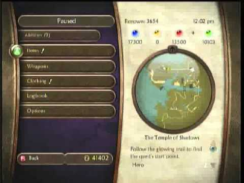 Fable 2 : Potions Experience Glitch EASY