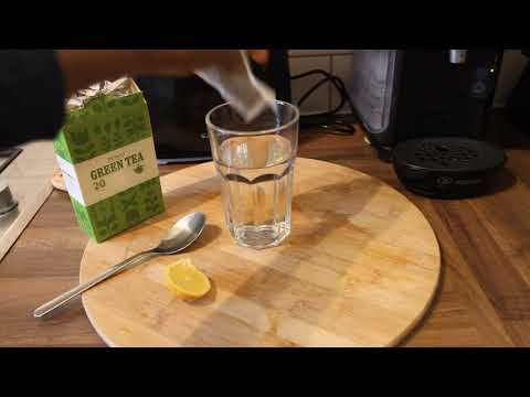 Lose Weight Drinking Green Tea | Lemon Green Tea Weight Loss