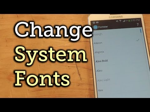 Change System Fonts on Your Samsung Galaxy Note 3 - Over 150 Free Styles! [How-To]
