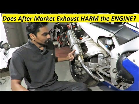 Does After Market Exhaust HARM the ENGINE? Simple explanation.