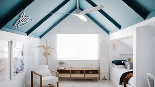 Kids Bedrooms + Main Bathroom Reveal, Episode 5 | Colour Me Hamptons Renovation | House 11
