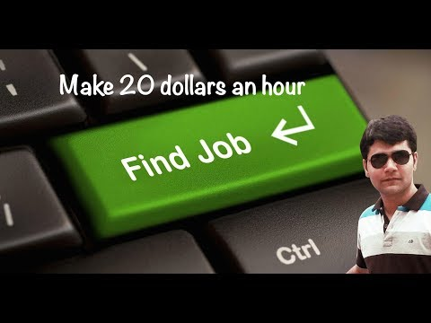 Make 20 dollars an hour from home