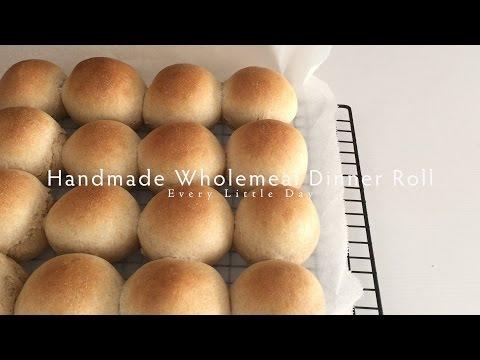 Homemade Wholemeal Dinner Roll #06