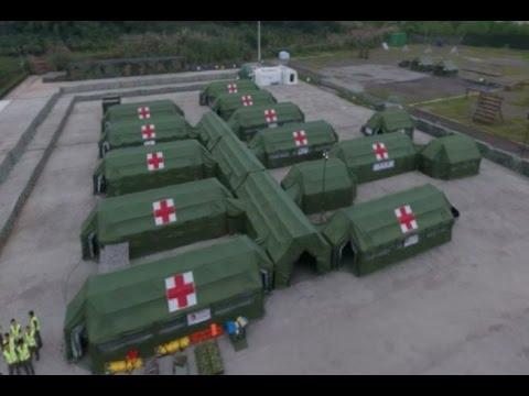 Sino-German Medical Drill Uses Advanced Equipment
