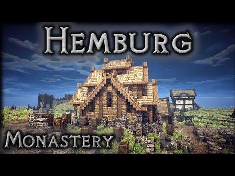 Minecraft: Hemburg - Ep1 Monastery Interior - Part 1/2 (Let's Build)