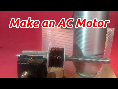 Howto make an AC Motor