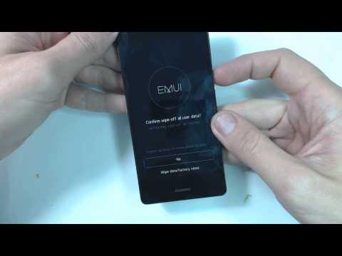 Huawei P8 lite hard reset