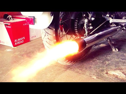Testing Pataka best Silencer exhaust Sound on Royal Enfield classic