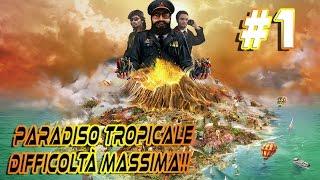 TROPICO 5 ITA #1 - DIFFICOLTÀ MASSIMA - PARADISO TROPICALE NYKK3 IL GOVERNATORE
