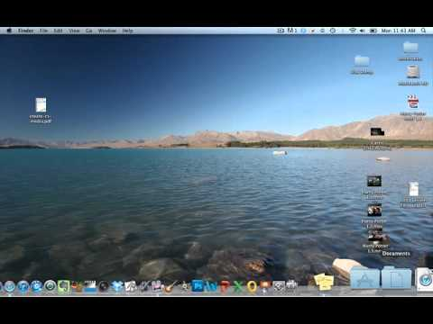 How to use stickies on a MAC
