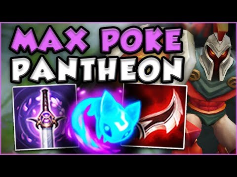 WTF?? ONE PANTHEON Q DOES HOW MUCH DAMAGE?! NEW SEASON 8 PANTHEON TOP GAMEPLAY! - League of Legends
