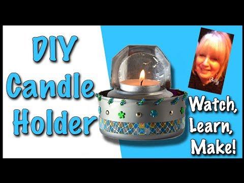 DIY Candle Holder Decor (2018)
