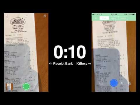 ReceiptBank vs Veryfi (formerly IQBoxy) 2017 receipt app review