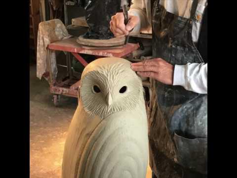 Clayton Thiel Hand builds owl