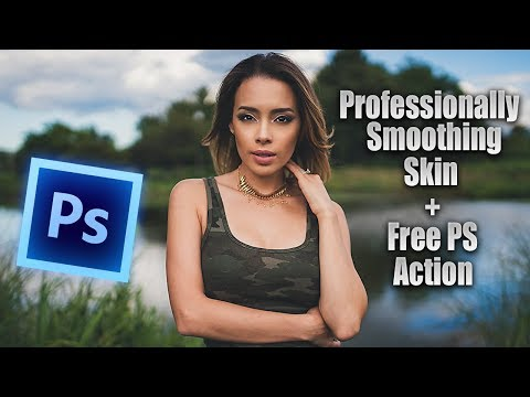 How to get BEAUTIFUL smooth skin in photoshop   PROFESSIONALLY