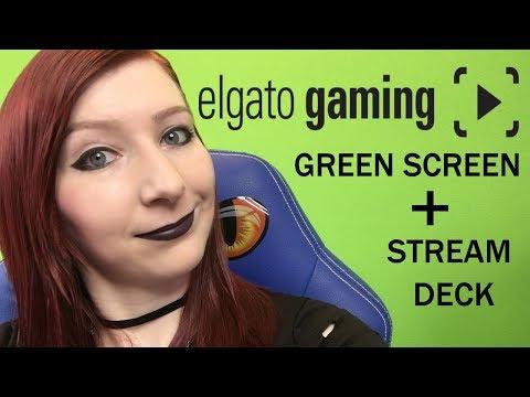 THANKS ELGATO!! ELGATO GREEN SCREEN & STREAM DECK SETUP AND TUTORIAL VIDEO!