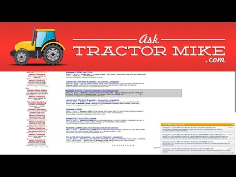 Finding Fair Market Value for a Used Tractor