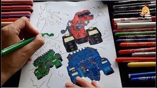 Printable Dinotrux Coloring Page Videos 9tubetv