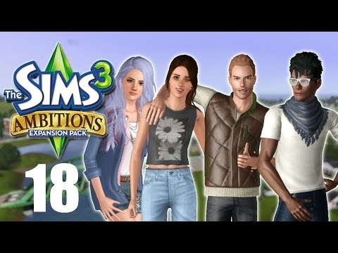 Let's Play: The Sims 3 Ambitions | Part 18 | Leonard the Simbot!