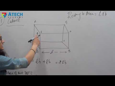 What is a cuboid in math? Formulas - Volume of Cuboid - Atech Academy