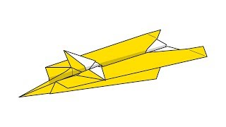 [색종이로 접어 날리는 종이비행기 페이퍼윙즈] 썬더 접는방법(Paper plane Thunder)