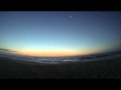 Ocean City Maryland Sunrise Time Lapse.