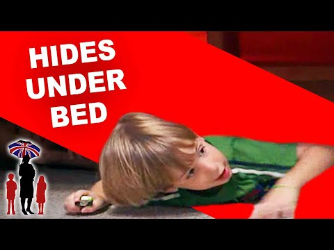 Supernanny | Naughty Kid Hides Under Bed To Escape Time Out