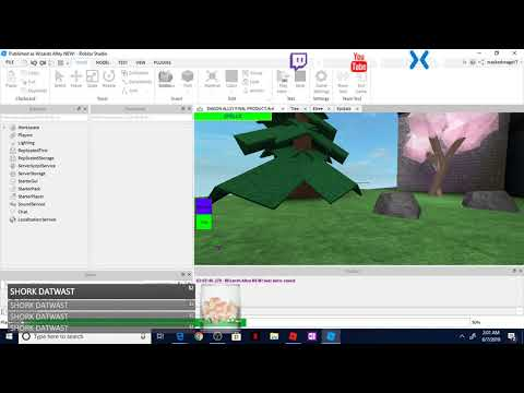 roblox studio gui working in studio but not when published