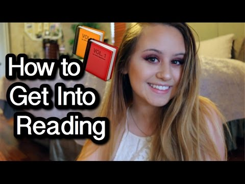 how to get into reading! | book beginners