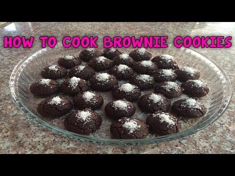 How to Cook Brownie Cookies