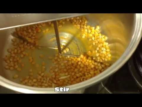Making Movie Theater Popcorn