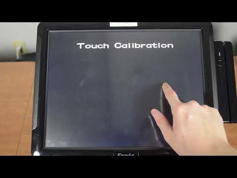 SAM4POS - How to calibrate the sam4pos touchscreen