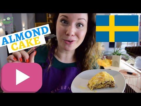 MANDELTÅRTA Recipe | Swedish Almond Cake