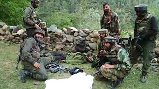 Encounter in Kashmir by Para SF , killed one Militant, army in full action against terrorism